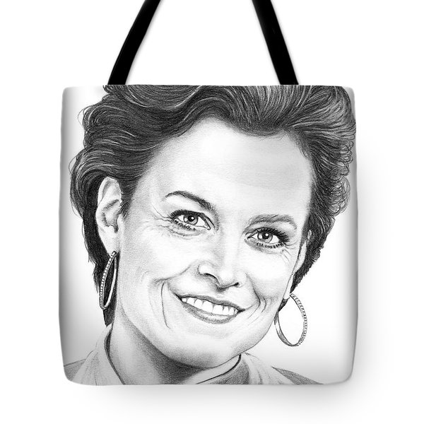 Sigourney Weaver Tote Bag by Murphy Elliott
