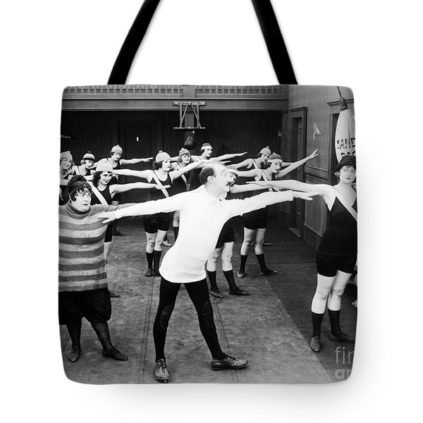 Silent Still: Gymnasium Tote Bag by Granger