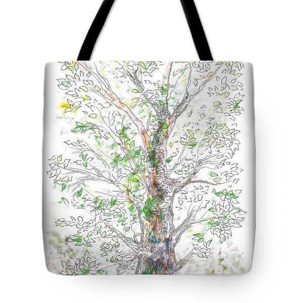 Silent Witness Tote Bag by Regina Valluzzi