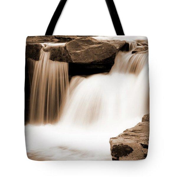 Silken Waters Tote Bag by Tamyra Ayles