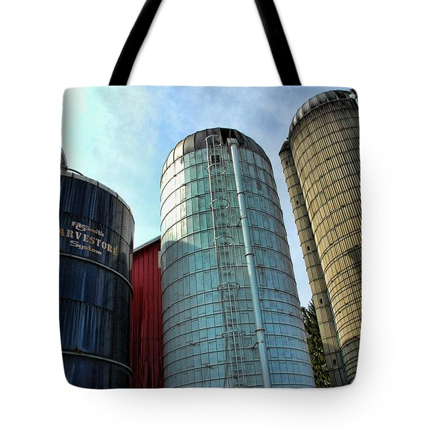SILOS Tote Bag by Paul Ward