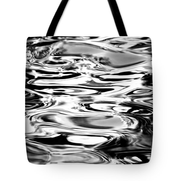 Silvery Water Ripples Tote Bag by Dave Fleetham - Printscapes