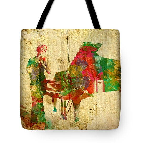 Sing It Baby One More Time Tote Bag by Nikki Smith