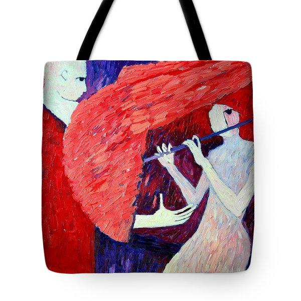 Singing To My Angel 1 Tote Bag by Ana Maria Edulescu