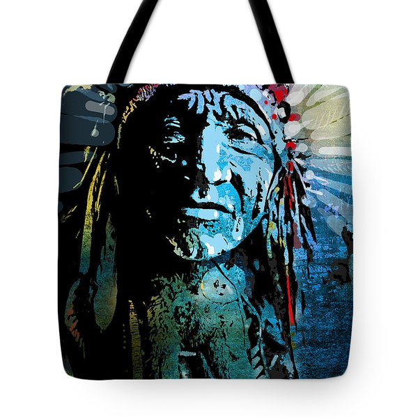 Sioux Chief Tote Bag by Paul Sachtleben