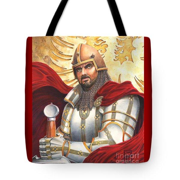 Sir Gawain Tote Bag by Melissa A Benson