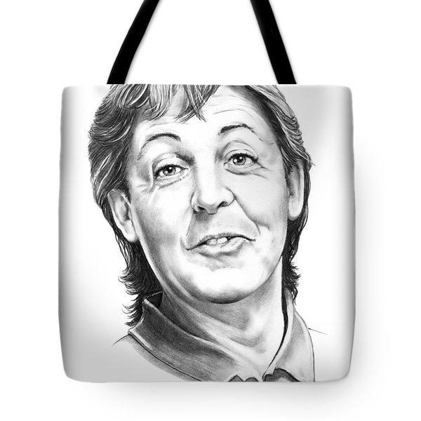 Sir Paul Mccartney Tote Bag by Murphy Elliott