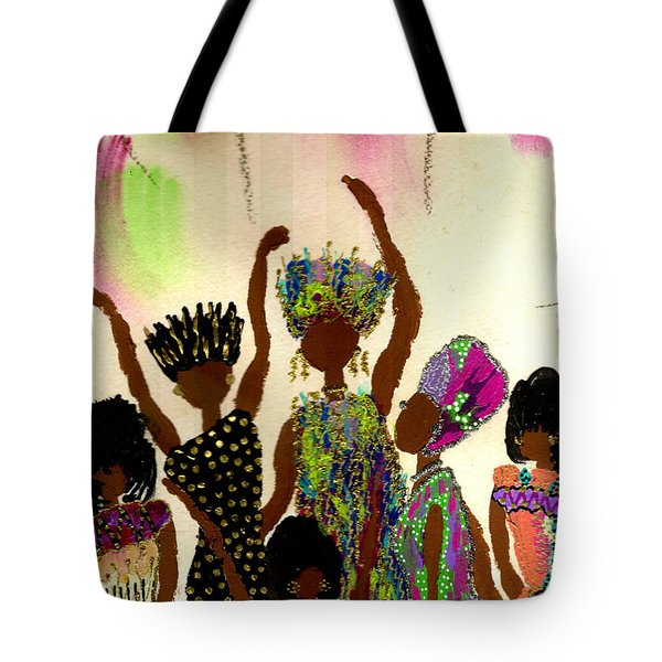 Sisterhood Tote Bag by Angela L Walker