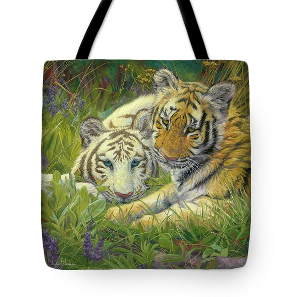 Sisters Tote Bag by Lucie Bilodeau