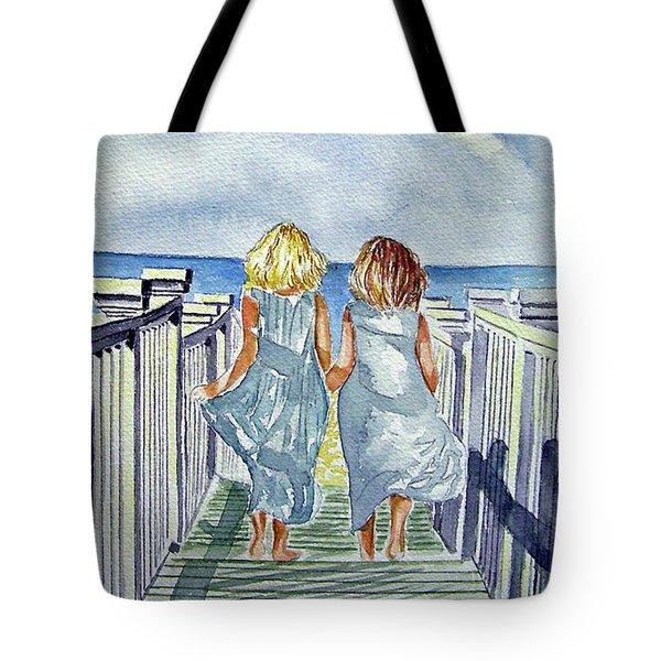 Sisters Tote Bag by Paul SANDILANDS