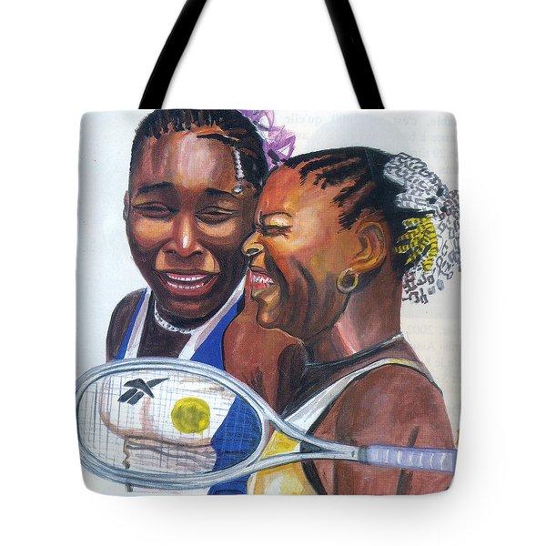 Sisters Williams Tote Bag by Emmanuel Baliyanga