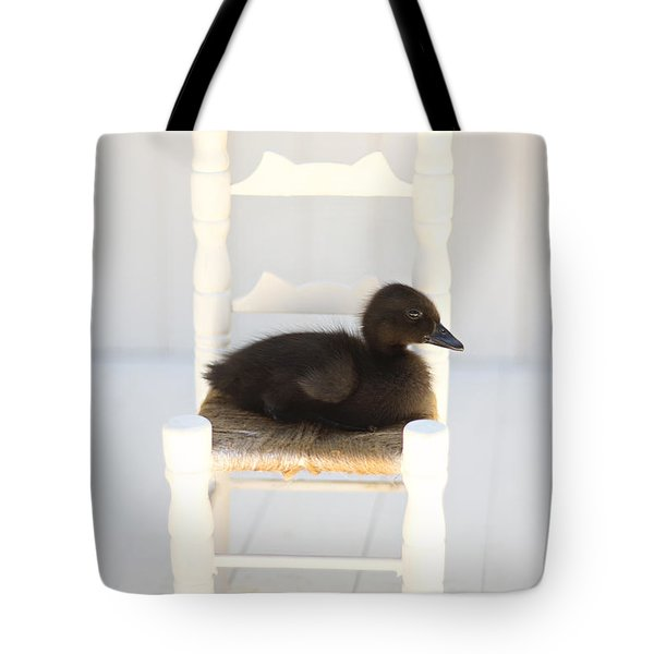 Sitting Duck Tote Bag by Amy Tyler