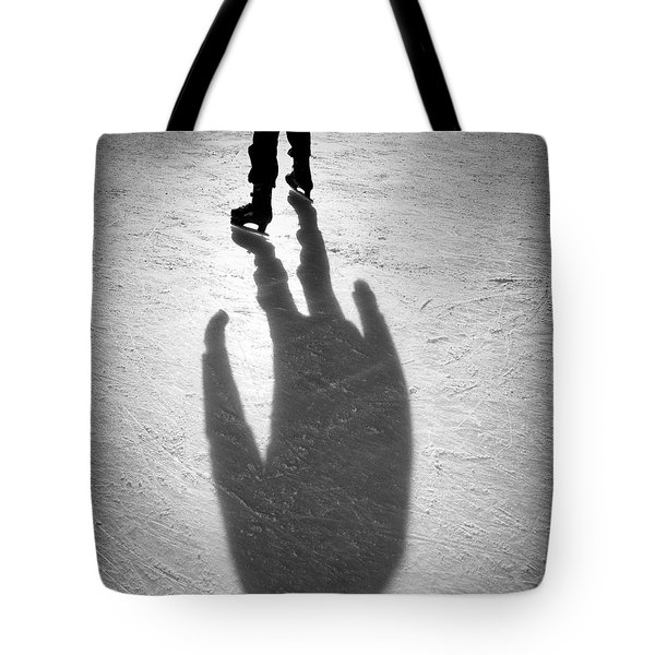 Skater Tote Bag by Dave Bowman