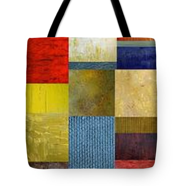 Skinny Color Study Ll Tote Bag by Michelle Calkins