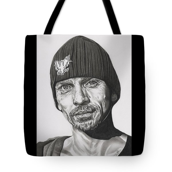 Skinny Pete  Breaking Bad Tote Bag by Fred Larucci