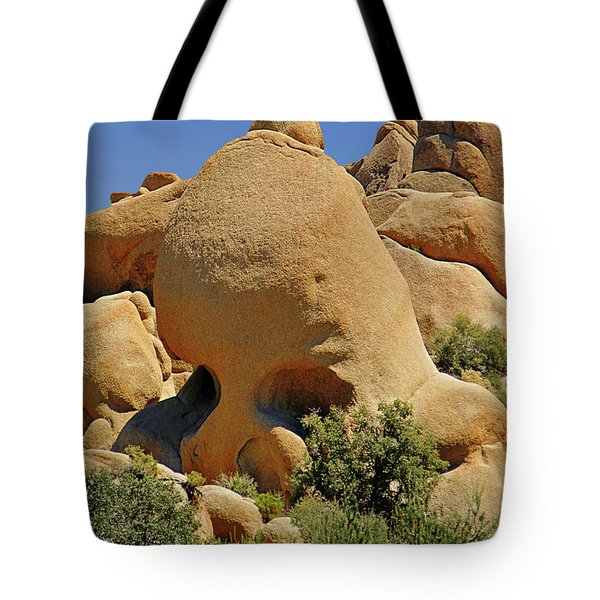 Skull Rock - The Hills Have Eyes Tote Bag by Christine Till