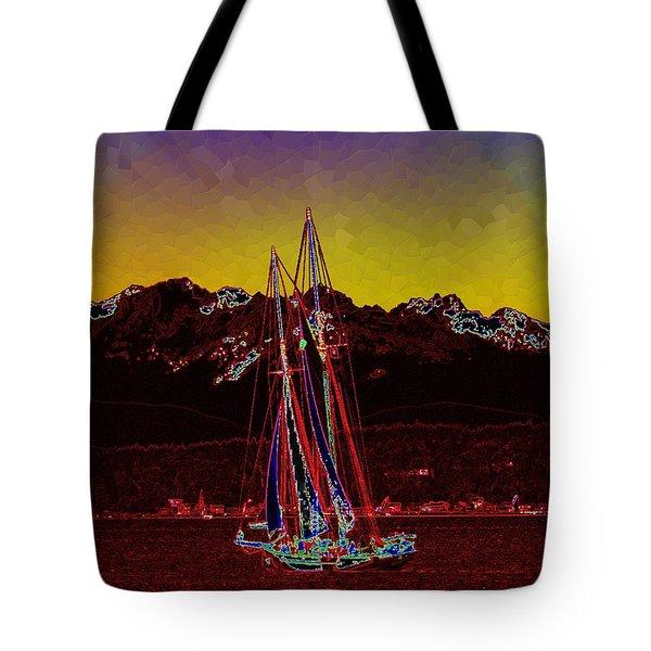 Sky Diamonds Tote Bag by Tim Allen