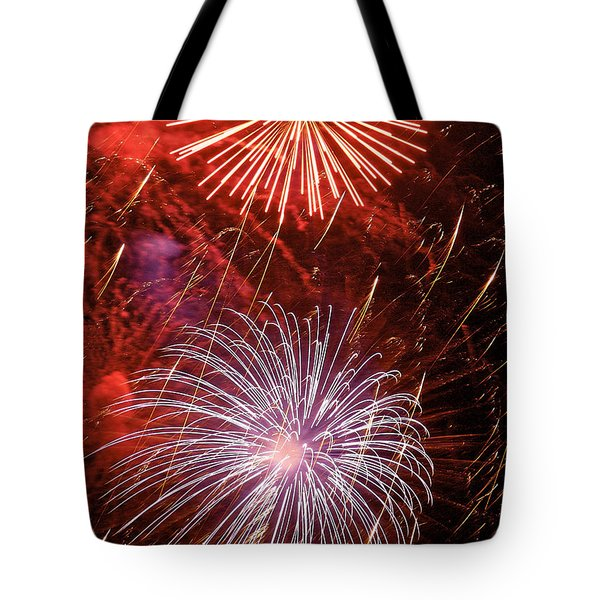 Sky Explosion Tote Bag by Phill Doherty