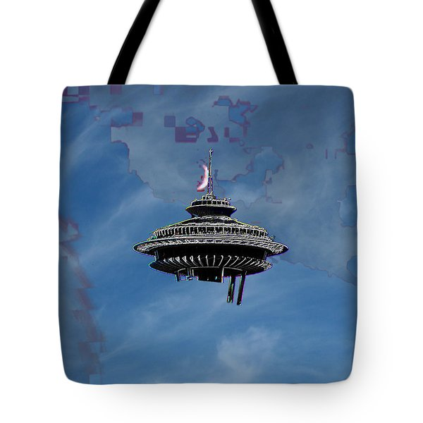 Sky Needle Tote Bag by Tim Allen