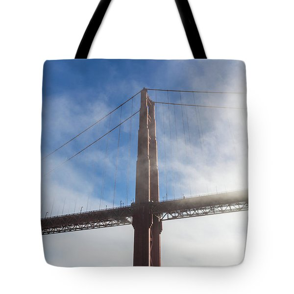 Skyscraper With Wings Tote Bag by Scott Campbell