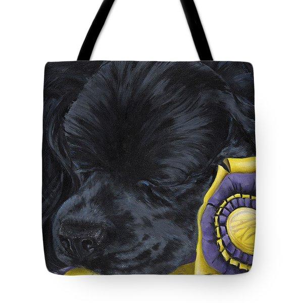 Sleepy Time Spader Tote Bag by Gilda Goodwin