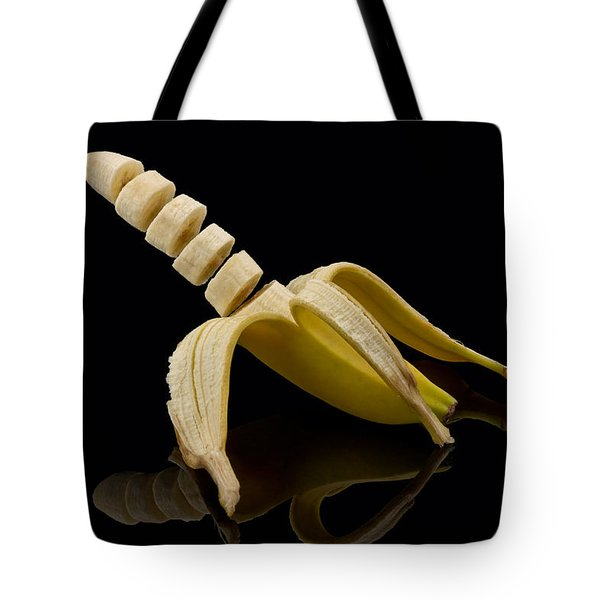 Sliced Banana Tote Bag by Gert Lavsen