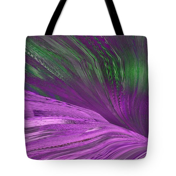 Slippery Slope Tote Bag by Tim Allen