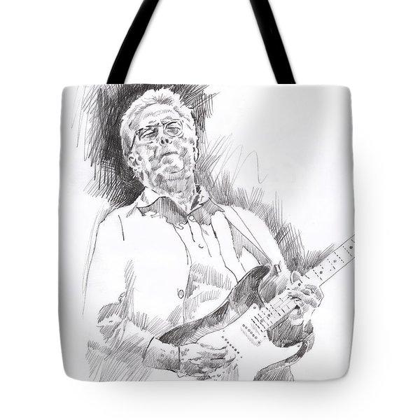 Slowhand Tote Bag by David Lloyd Glover