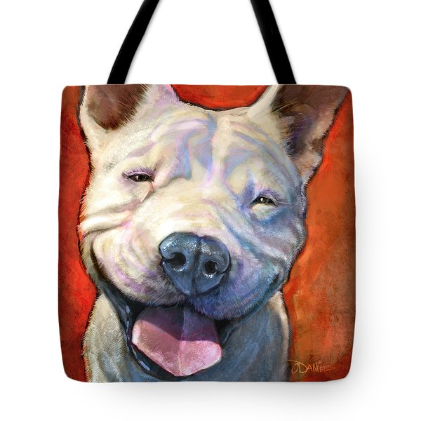 Smile Tote Bag by Sean ODaniels