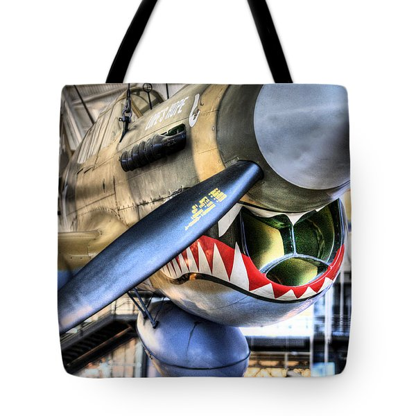 Smithsonian Air and Space Tote Bag by JC Findley