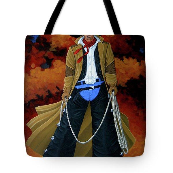 Smokey Tote Bag by Lance Headlee