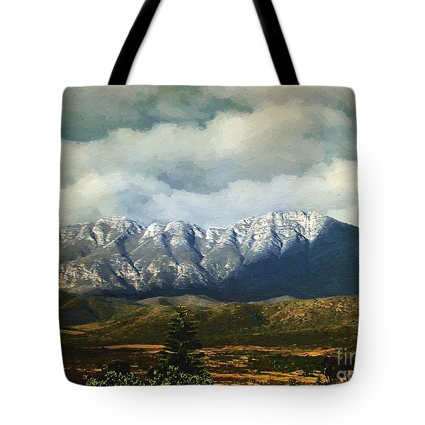 Smoky Clouds On A Thursday Tote Bag by RC deWinter