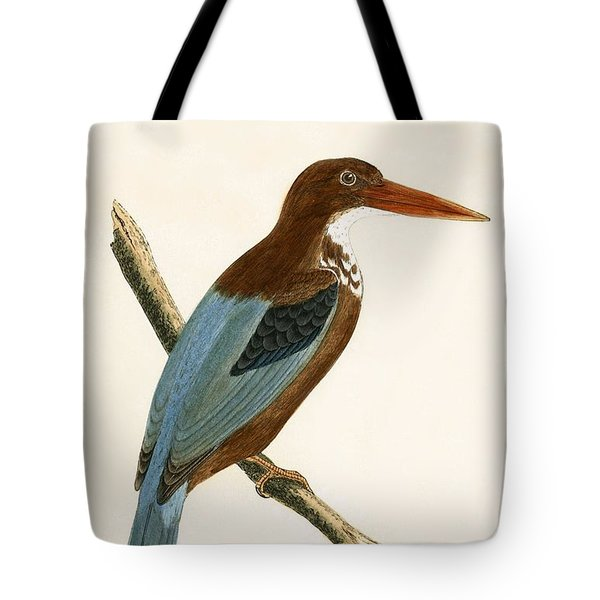 Smyrna Kingfisher Tote Bag by English School