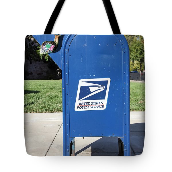Snail Mail - 5D18813 Tote Bag by Wingsdomain Art and Photography