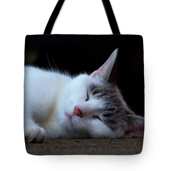 Snooze Tote Bag by Jai Johnson