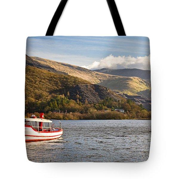 Snowdon Star Tote Bag by Dave Bowman