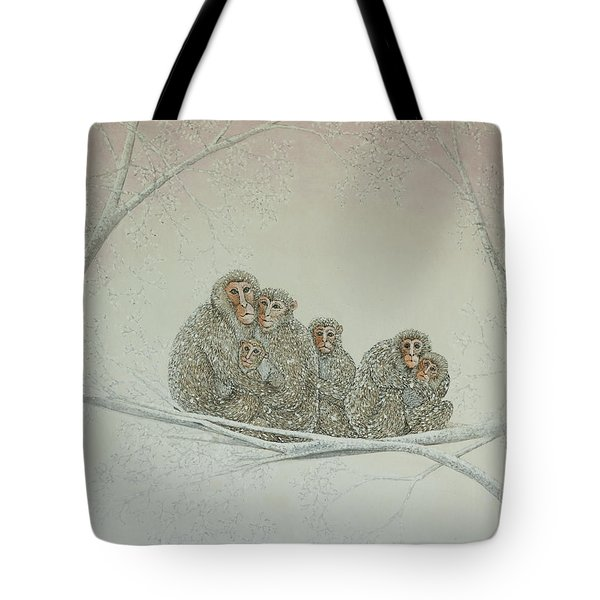Snowed Under Tote Bag by Pat Scott