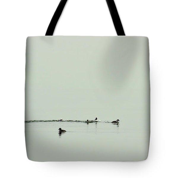 So Far Away Tote Bag by Rebecca Sherman
