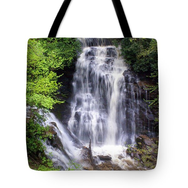 Soco Falls 1 Tote Bag by Marty Koch