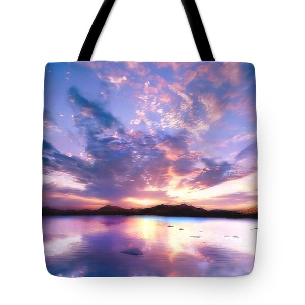 Soft Setting Tote Bag by Photodream Art