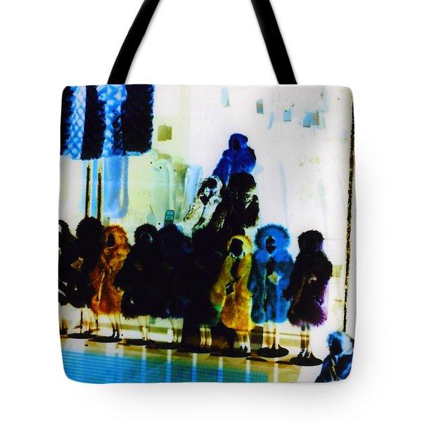 Soho Shop Window Tote Bag by Karin Kohlmeier