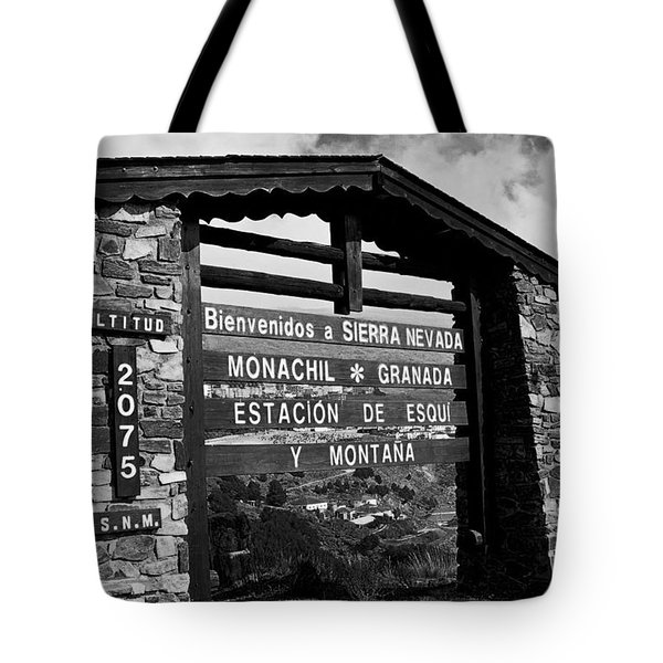 Sol Y Nieve ... Tote Bag by Juergen Weiss