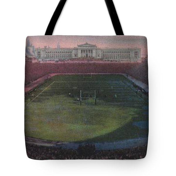 Soldier Field Tote Bag by American School