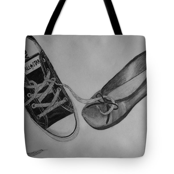 Sole Mates Tote Bag by Joanna Aud