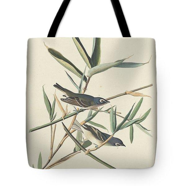 Solitary Flycatcher Tote Bag by John James Audubon