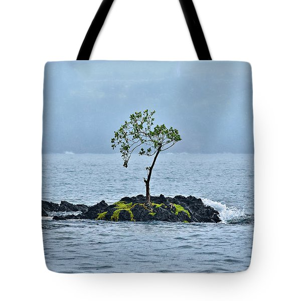 Solitude In Hilo Bay Tote Bag by Christopher Holmes