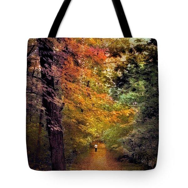 Solo Promenade Tote Bag by Jessica Jenney
