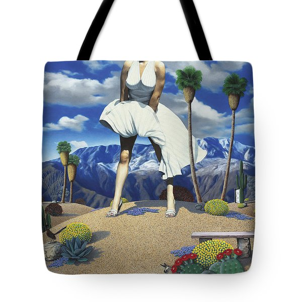 Some Like It Hot Tote Bag by Snake Jagger