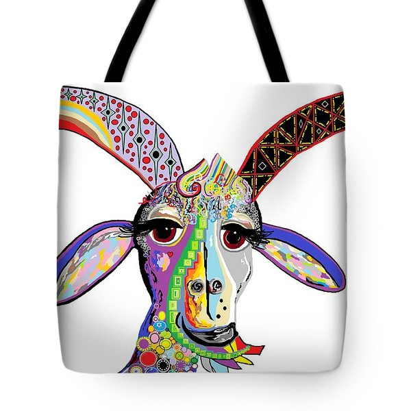 Somebody Got Your Goat? Tote Bag by Eloise Schneider