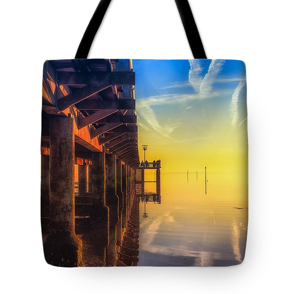 Tote Bag featuring the photograph Somewhere Else by Thierry Bouriat